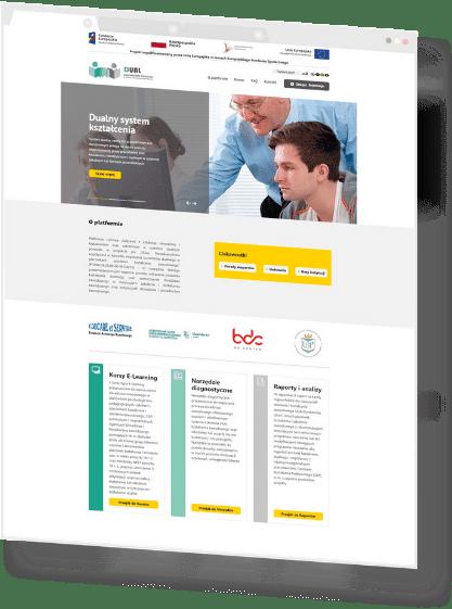 Firma Partium Marketing wykonała prace programistyczne na rzecz ProjektDual.pl
