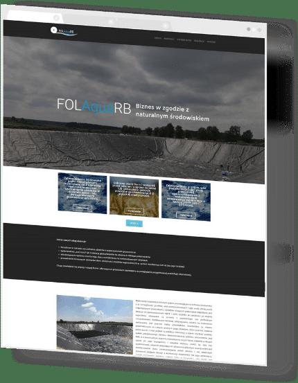 Interaktywna strona WWW dla FolAqua